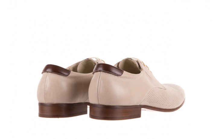 Półbuty brooman 7760-207h721 beige, beż, skóra naturalna  - obuwie wizytowe - buty męskie - mężczyzna 3