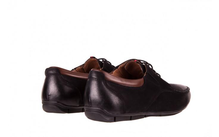 Półbuty brooman 7769-12h642 black 18, czarny, skóra naturalna  - brooman - nasze marki 3