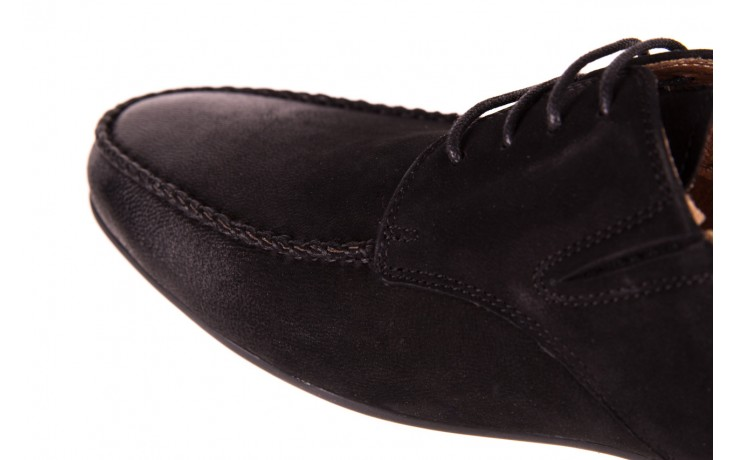 Półbuty brooman 7769-12h642 black 18, czarny, skóra naturalna  - brooman - nasze marki 5