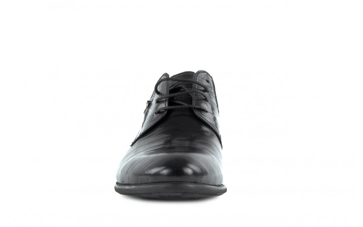 Półbuty brooman a0427-905-4 black, czarny, skóra naturalna  - brooman - nasze marki 1