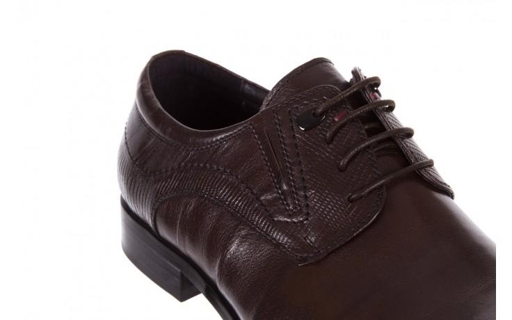 Półbuty brooman a240-83-2 brown, brąz, skóra naturalna  - brooman - nasze marki 5