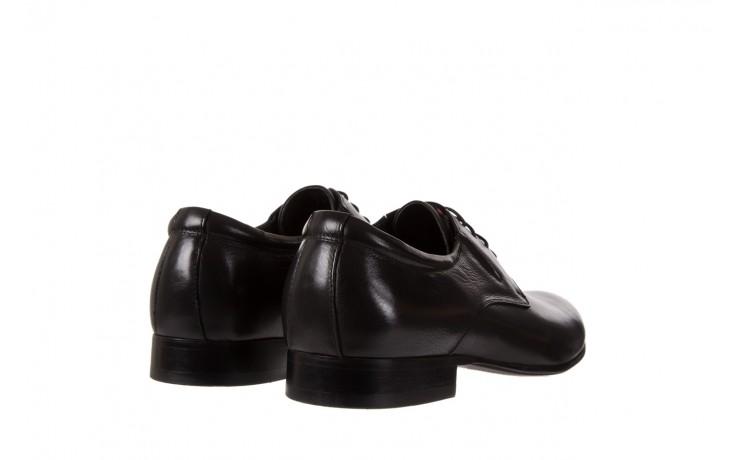 Półbuty brooman a8111-105-1 black, czarny, skóra naturalna  - brooman - nasze marki 3