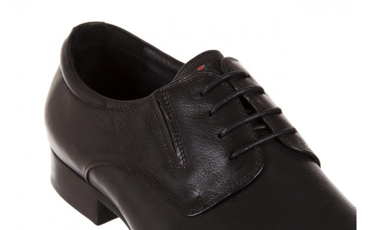 Półbuty brooman a8111-105-1 black, czarny, skóra naturalna  - brooman - nasze marki 5