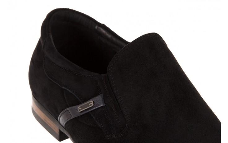 Półbuty brooman a8115-106-2 black 104046, czarny, skóra naturalna  - brooman - nasze marki 5