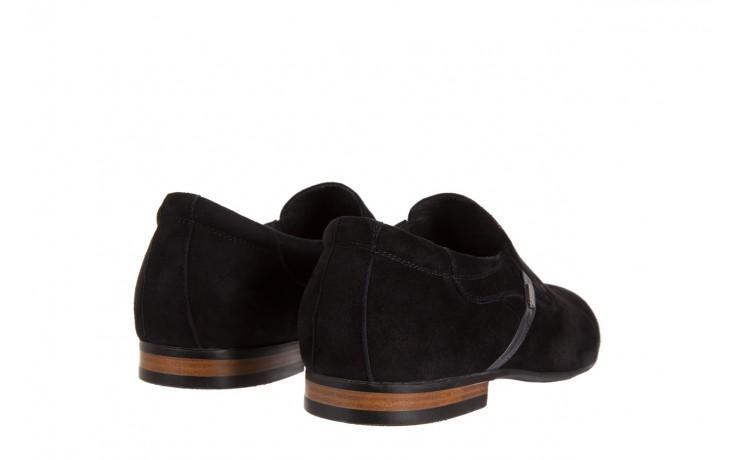 Półbuty brooman a8115-106-2 black 104046, czarny, skóra naturalna  - brooman - nasze marki 3
