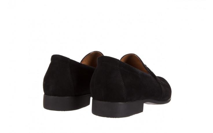 Półbuty brooman c115-302-1 black, czarny, skóra naturalna  - brooman - nasze marki 3