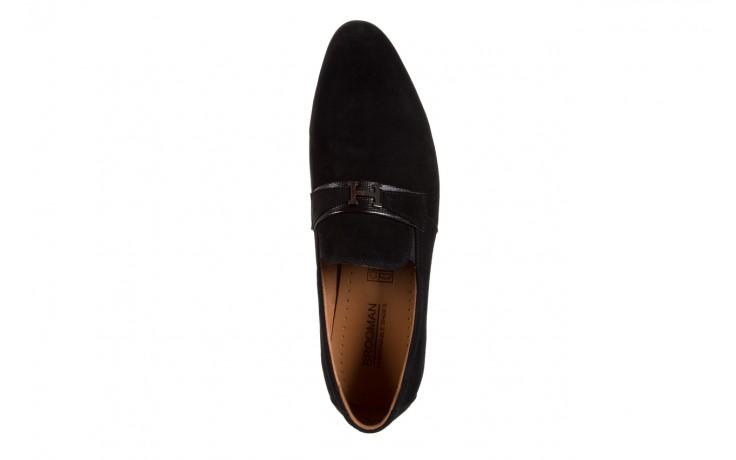 Półbuty brooman c115-302-1 black, czarny, skóra naturalna  - brooman - nasze marki 4