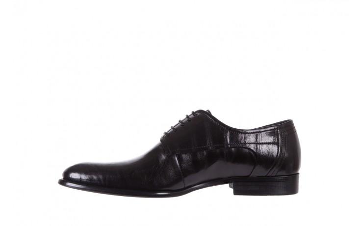 Półbuty brooman c19-358-1 black, czarny, skóra naturalna  - obuwie wizytowe - buty męskie - mężczyzna 2