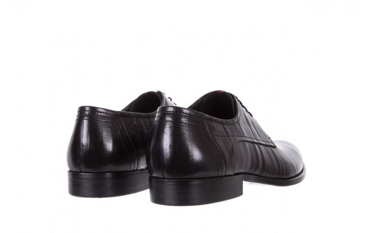 Półbuty brooman c19-358-1 black, czarny, skóra naturalna  - obuwie wizytowe - buty męskie - mężczyzna 3