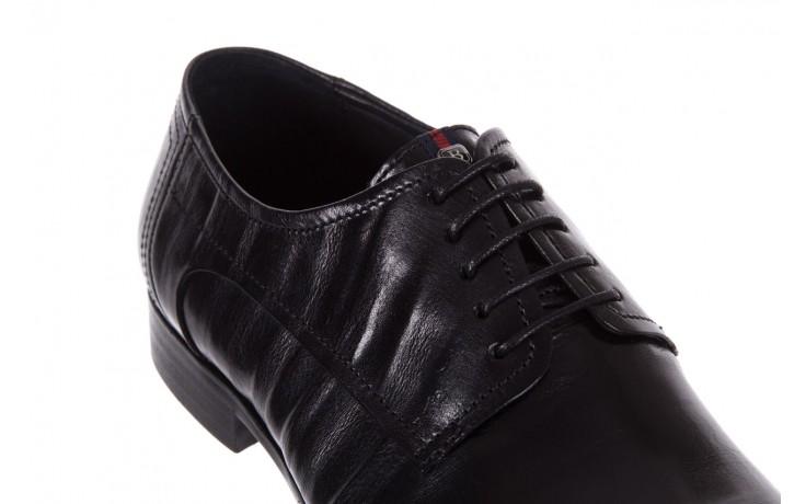 Półbuty brooman c19-358-1 black, czarny, skóra naturalna  - obuwie wizytowe - buty męskie - mężczyzna 5