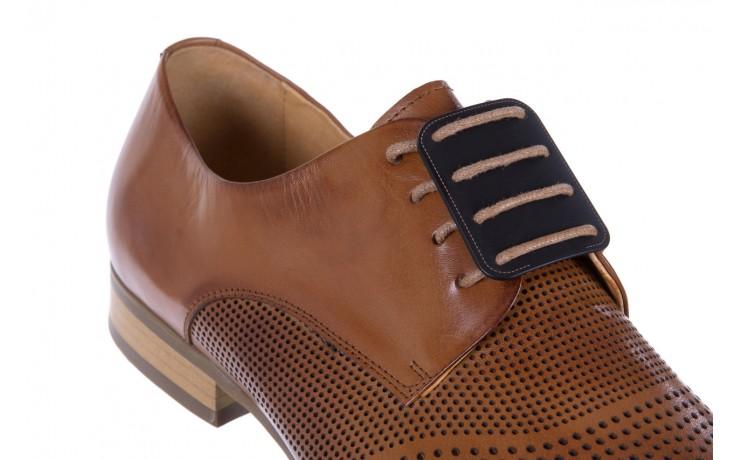Półbuty brooman da8111-101-3 brown, brąz, skóra naturalna  - brooman - nasze marki 5