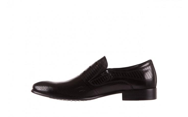 Półbuty brooman dc56-119-a689 black, czarny, skóra naturalna - obuwie wizytowe - buty męskie - mężczyzna 2