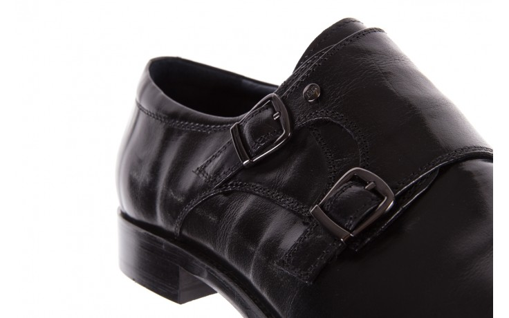 Półbuty brooman ja088-931a-j17 black, czarny, skóra naturalna - brooman - nasze marki 5