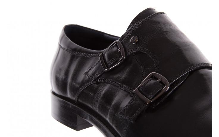 Półbuty brooman ja088-931a-j17 black 21 104179, czarny, skóra naturalna  - wizytowe - półbuty - buty męskie - mężczyzna 6