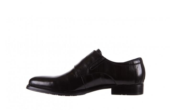 Półbuty brooman ja088-931a-j17 black 21 104179, czarny, skóra naturalna  - wizytowe - półbuty - buty męskie - mężczyzna 2