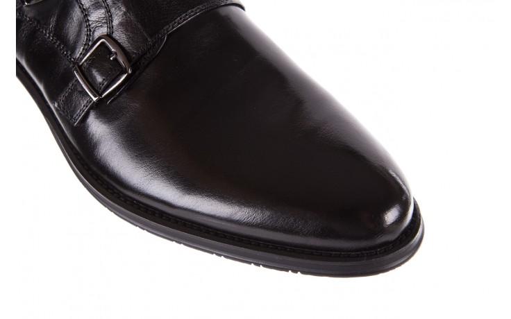 Półbuty brooman ja088-931a-j17 black, czarny, skóra naturalna - brooman - nasze marki 6