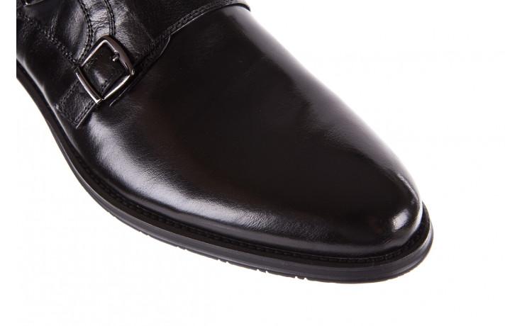 Półbuty brooman ja088-931a-j17 black 21 104179, czarny, skóra naturalna  - wizytowe - półbuty - buty męskie - mężczyzna 5