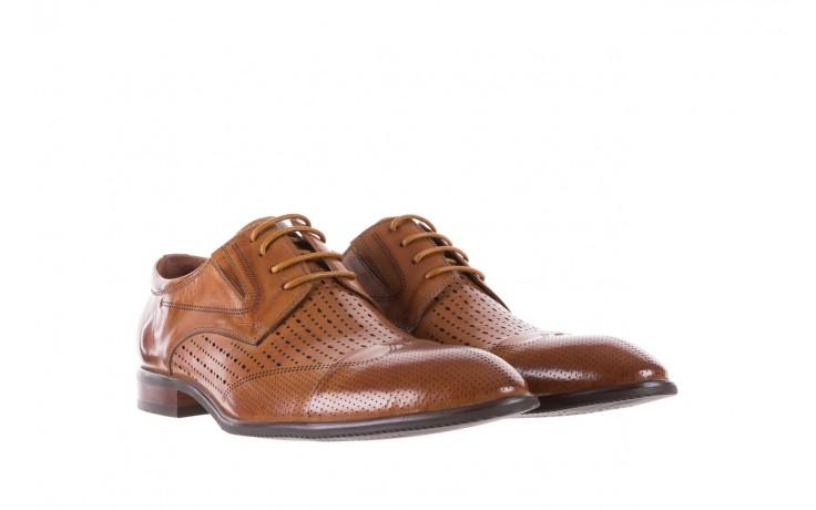 Półbuty brooman jb135-907-c19 brown, brąz, skóra naturalna  - brooman - nasze marki 1