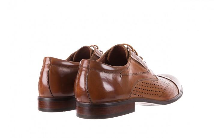 Półbuty brooman jb135-907-c19 brown, brąz, skóra naturalna  - brooman - nasze marki 3