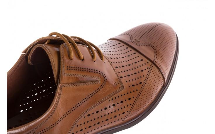 Półbuty brooman jb135-907-c19 brown, brąz, skóra naturalna  - brooman - nasze marki 5