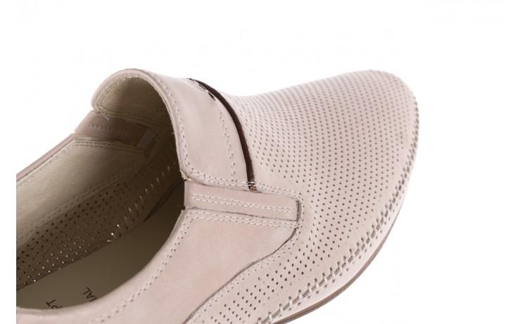 Półbuty brooman john doubare 17931-504h721 beige 104084, beż, skóra naturalna  - dla niego - sale 5