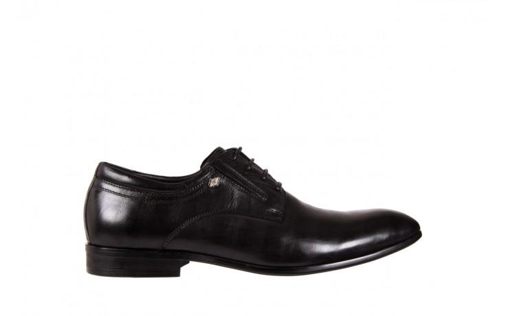 Półbuty brooman john doubare 2701-6-1 black, czarny, skóra naturalna  - brooman - nasze marki