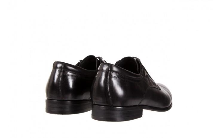 Półbuty brooman john doubare 2701-6-1 black, czarny, skóra naturalna  - brooman - nasze marki 3