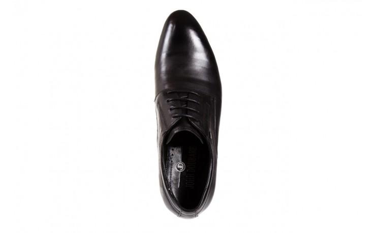Półbuty brooman john doubare 2701-6-1 black, czarny, skóra naturalna  - brooman - nasze marki 4