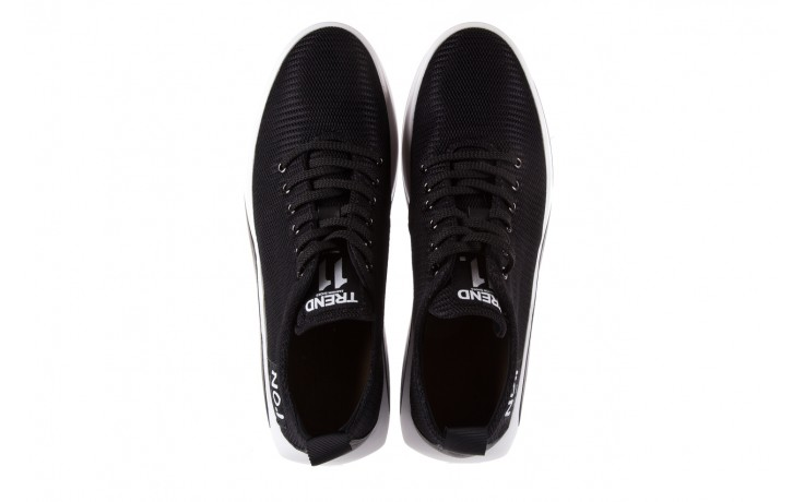 Półbuty brooman john doubare c1103a-1 black, czarny, materiał - brooman - nasze marki 4