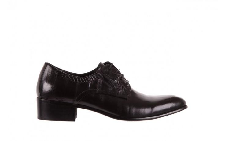 Półbuty brooman john doubare c179-304-2 black, czarny, skóra naturalna  - brooman - nasze marki