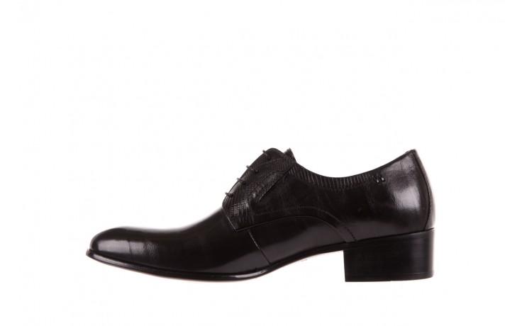 Półbuty brooman john doubare c179-304-2 black, czarny, skóra naturalna  - brooman - nasze marki 2