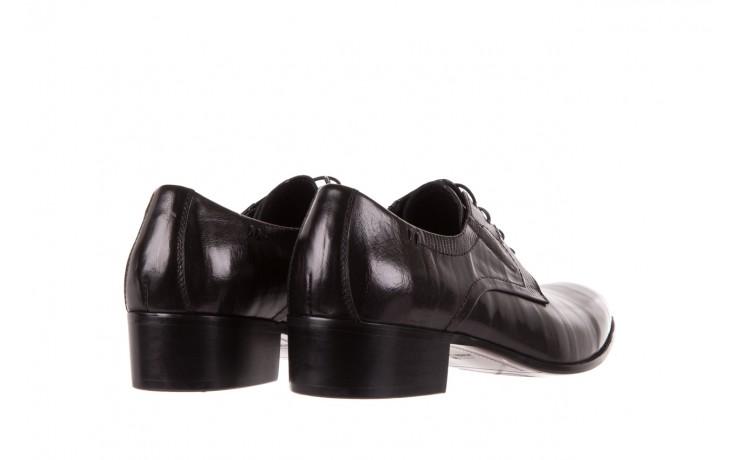 Półbuty brooman john doubare c179-304-2 black, czarny, skóra naturalna  - brooman - nasze marki 3