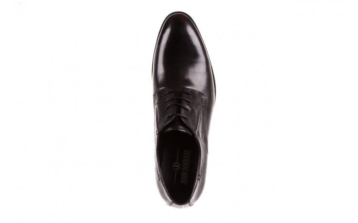 Półbuty brooman john doubare c179-304-2 black, czarny, skóra naturalna  - brooman - nasze marki 5