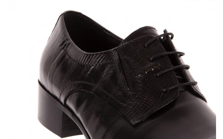 Półbuty brooman john doubare c179-304-2 black, czarny, skóra naturalna  - brooman - nasze marki 4