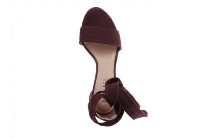 Sandały bayla-157 b008-009-b bordo, skóra naturalna  - bayla - nasze marki 4