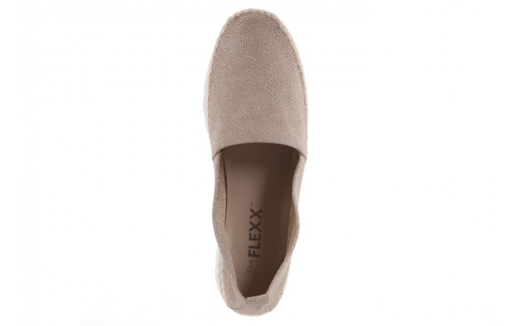 Espadryle the flexx chazan dune, beż, skóra naturalna  - the flexx - nasze marki 4