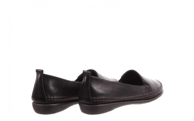 Mokasyny the flexx mr. right black, czarny, skóra naturalna  - the flexx - nasze marki 3