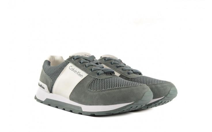 Sneakersy calvin klein jeans dusty mesh washed nubuck smoot dusty blue, zielony, skóra/materiał - calvin klein jeans - nasze marki 1