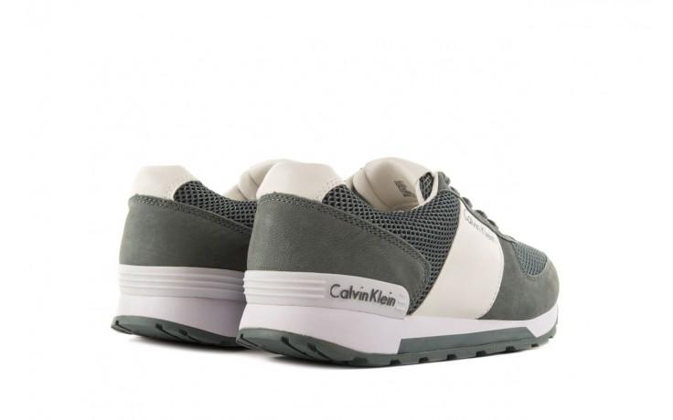 Sneakersy calvin klein jeans dusty mesh washed nubuck smoot dusty blue, zielony, skóra/materiał - calvin klein jeans - nasze marki 3