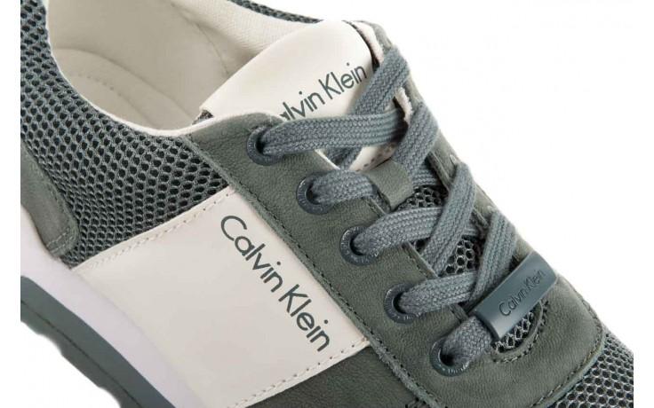 Sneakersy calvin klein jeans dusty mesh washed nubuck smoot dusty blue, zielony, skóra/materiał - calvin klein jeans - nasze marki 6