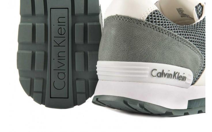 Sneakersy calvin klein jeans dusty mesh washed nubuck smoot dusty blue, zielony, skóra/materiał - calvin klein jeans - nasze marki 5