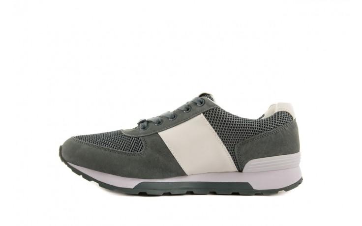 Sneakersy calvin klein jeans dusty mesh washed nubuck smoot dusty blue, zielony, skóra/materiał - calvin klein jeans - nasze marki 2