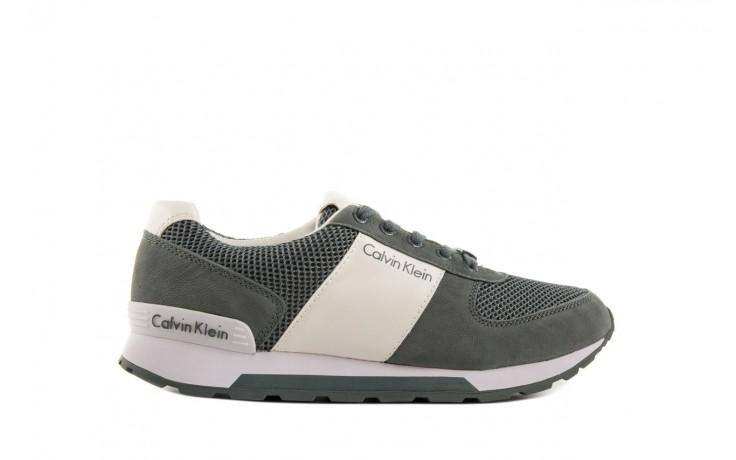 Sneakersy calvin klein jeans dusty mesh washed nubuck smoot dusty blue, zielony, skóra/materiał - calvin klein jeans - nasze marki