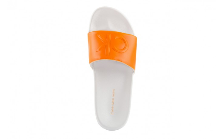 Calvin klein jeans charlotte matte smooth orange flu 4