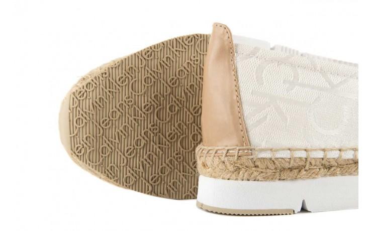 Calvin klein jeans genna ck logo jacquard vacchet white/natural - calvin klein jeans - nasze marki 5