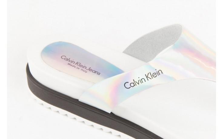 Calvin klein jeans ginevra iridescent mirror silver 5