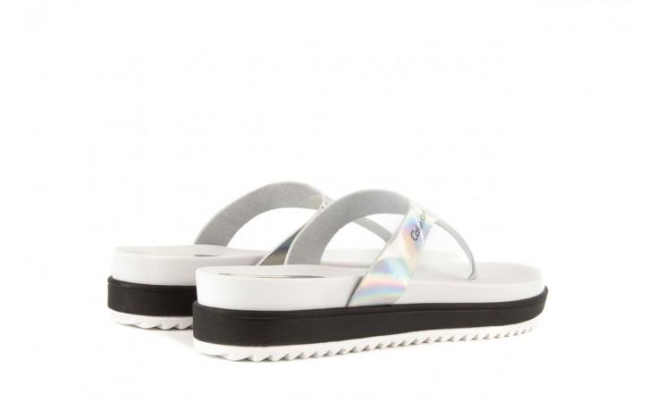 Calvin klein jeans ginevra iridescent mirror silver 3