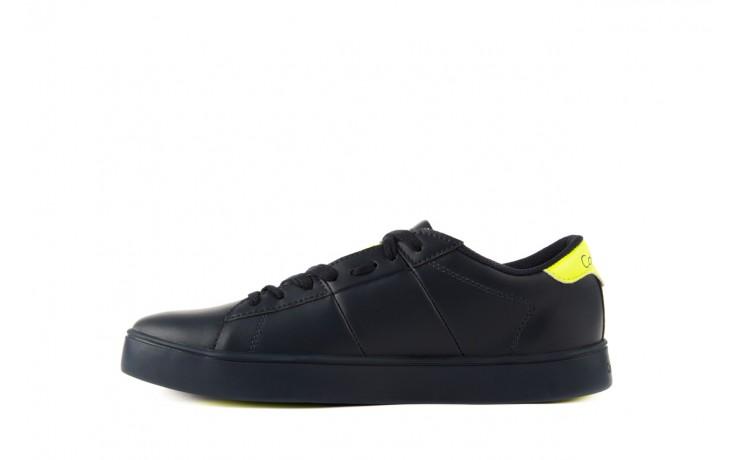 Calvin klein jeans luis matte smooth print navy yellow 2