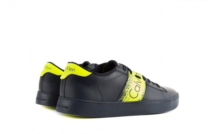 Calvin klein jeans luis matte smooth print navy yellow 3