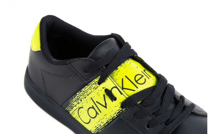 Calvin klein jeans luis matte smooth print navy yellow 6